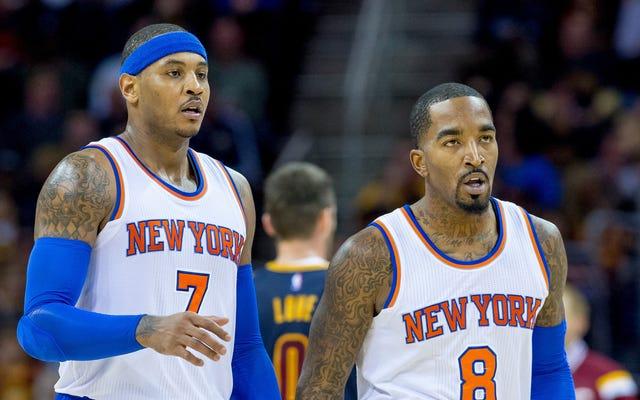 รายงาน: การจ้าง บริษัท ที่ปรึกษาทำให้ Melo Knicks หวาดระแวงและเสื่อมสมรรถภาพมากขึ้น