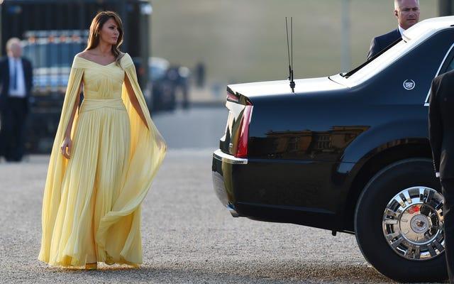Она действительно заботится? Омароса говорит, что Мелания Трамп пытается «наказать» своего мужа модой