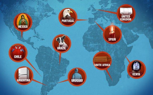 サッカーの迷信は国歌のようなものです:すべての国が1つを手に入れました