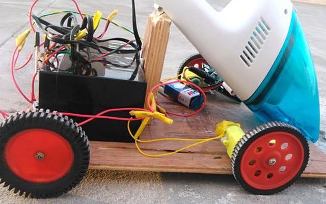 Cómo construir un Roomba de bajo presupuesto