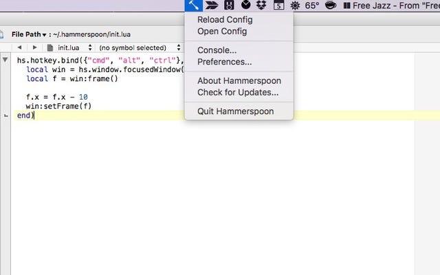 Hammerspoon es una herramienta de automatización potente y gratuita para OS X