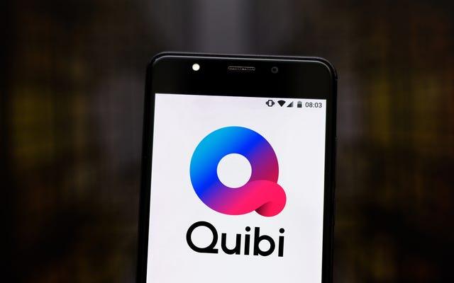 El escritor afirma que Quibi, sí, que Quibi, rechazó todos sus lanzamientos.