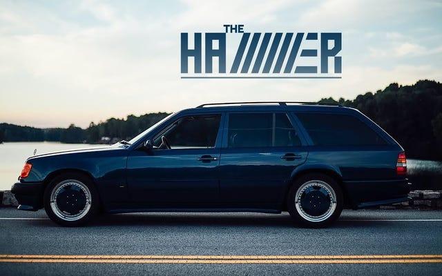 Cette AMG Hammer Wagon 1987 est un héros d'un autre temps