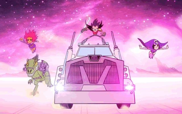 Teledysk Fall Out Boy dla Teen Titans Go! Odkupuje tę okropną piosenkę pogromców duchów