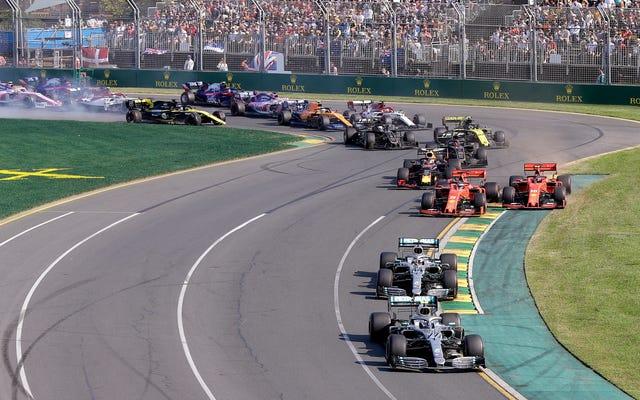 オーストラリアのF1シーズン開幕戦