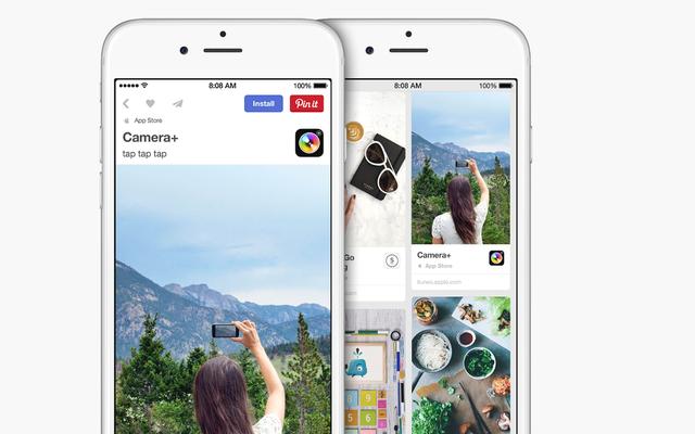 Giải pháp cho Điều hướng App Store iOS đáng kinh ngạc là ... Pinterest?