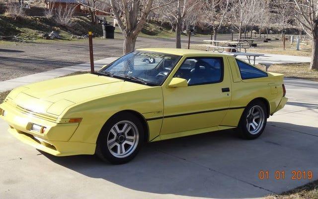 ที่ $ 11,500 Chrysler Conquest TSi A รถปี 1989 ที่คุณเห็นว่าตัวเองครอบครองอยู่หรือไม่?