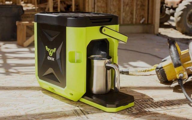 この頑丈なコーヒーメーカーは、あなたが必要だとは知らなかった現場ツールです