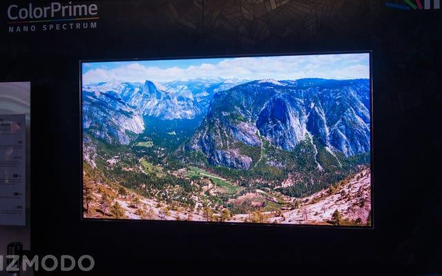 Le téléviseur 8K Ludicrous de LG est trop fou pour mes yeux
