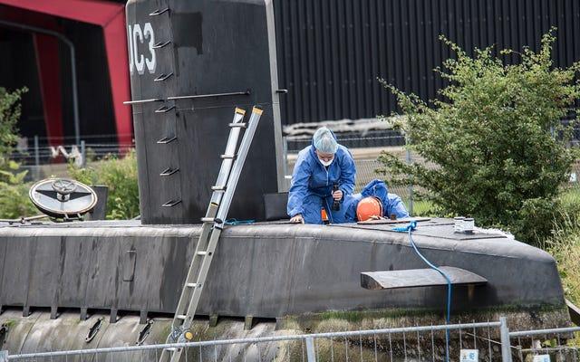 ピーター・マドセンは潜水艦でジャーナリストのキム・ウォールを虐殺したことを認めているが、彼は彼女を殺さなかったと言っている