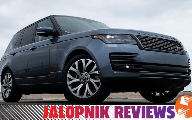 Saya Suka Hybrid Range Rover Tapi Itu Tidak Bisa Mengatasinya Sendiri