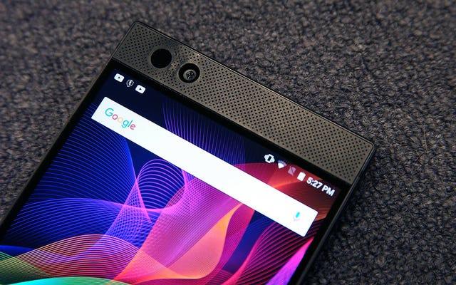 ロック解除されたRazerPhoneで120Hzの至福をたった200ドルで体験
