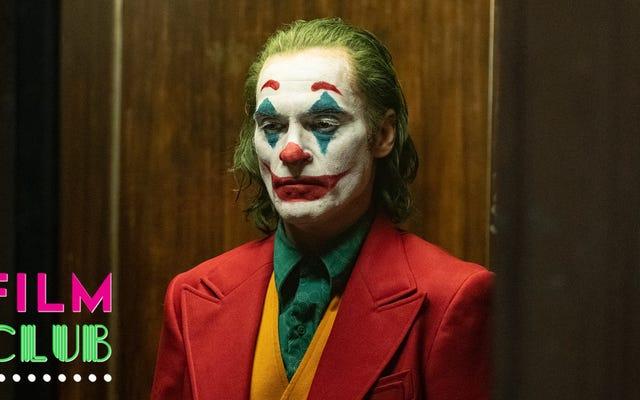 Trik Joker adalah kita masih membicarakan hal sialan itu