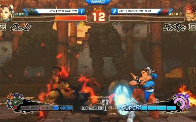 แม้ว่า Daigo จะพ่ายแพ้ แต่เขาก็ดึงช่วงเวลา Capcom Cup ที่เจ๋งที่สุดออกมา
