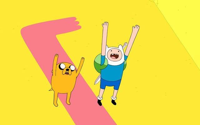 フィンとジェイクは、印象的な次元間クロスオーバーで多元宇宙を台無しにします