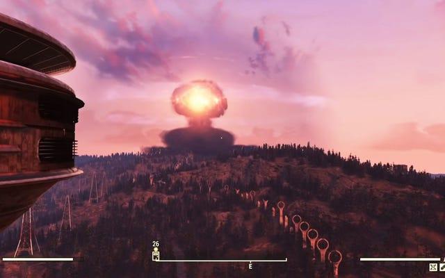 Fallout 76'nın NPC'leri Nükleer Atılmayı Umursamıyor