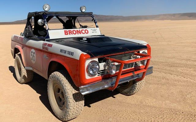 Ecco cosa vuol dire guidare nella Ford Bronco, vincitrice della Baja 1000 nel 1969