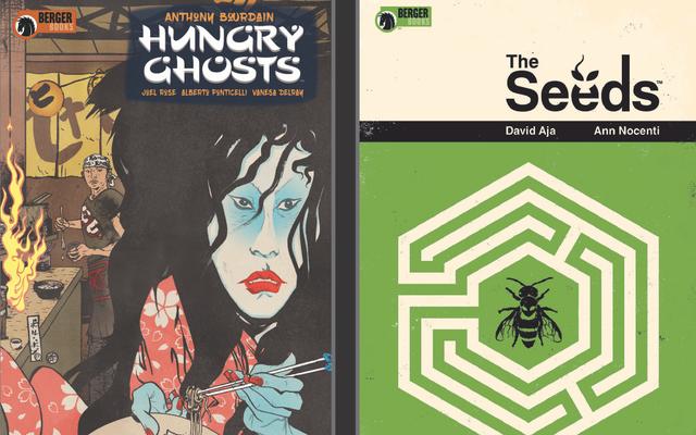 Berger Books'un ilk çizgi roman dizisine özel bir ilk bakış atın