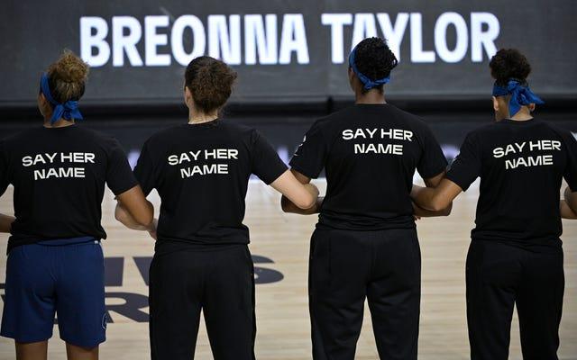 WNBA के लिए सामाजिक न्याय स्पार्क्स रेटिंग की वृद्धि के लिए लड़ना