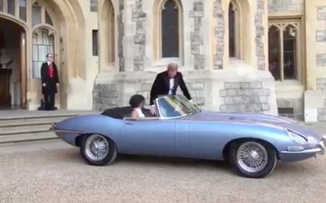 Najlepszą częścią królewskiego wesela jest zdecydowanie ten Jaguar E-Type Concept Zero
