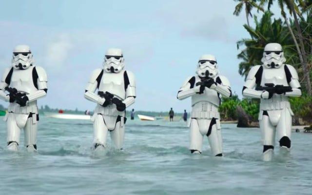 Lucasfilm đã loại bỏ rất nhiều cảnh Rogue One để tạo thành một bộ phim hoàn toàn khác