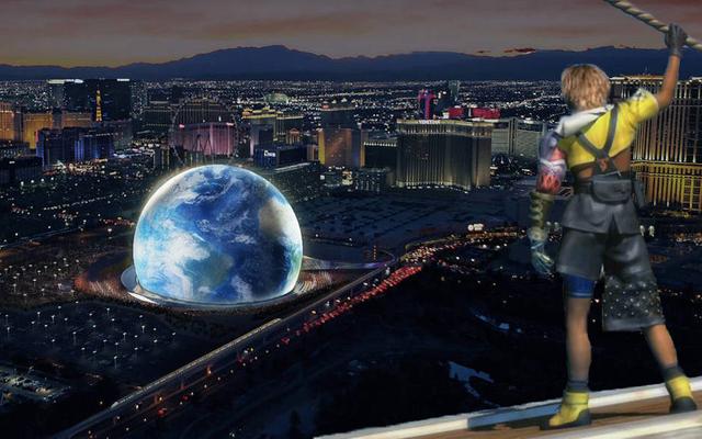 ラスベガススフィアのコンセプトは確かにブリッツボールアリーナのように見えます