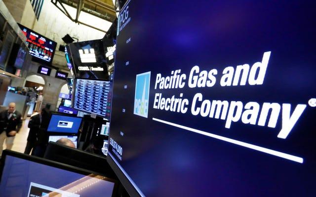 California Power Company związana z zeszłorocznym śmiertelnym pożarem obozu składa wniosek o ogłoszenie upadłości