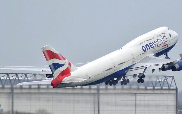 Con la ayuda de una tormenta, un 747 de British Airways acaba de romper el récord subsónico transatlántico