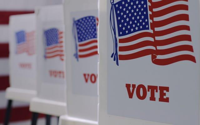 共和党はLを取ることができず、43州全体で投票アクセスを厳しく制限するよう取り組んでいます
