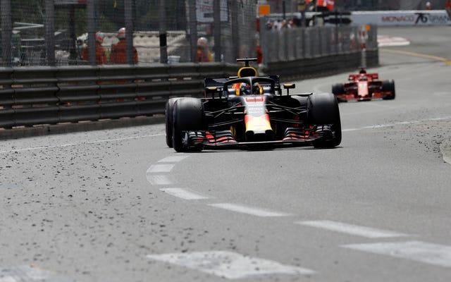 ダニエル・リカルドが壊れた車でモナコグランプリを獲得