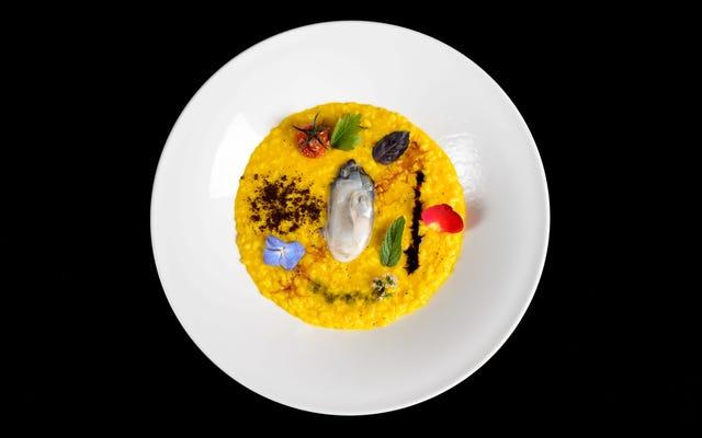 未来派の芸術運動は料理に挑戦し、食欲をそそる結果をもたらしました