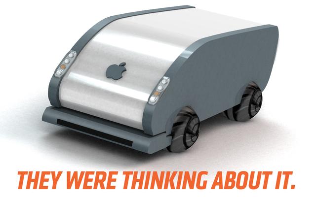 Apple chciało zastąpić koła samochodów piłeczkami