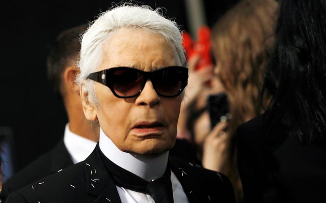 Décès du légendaire designer Karl Lagerfeld