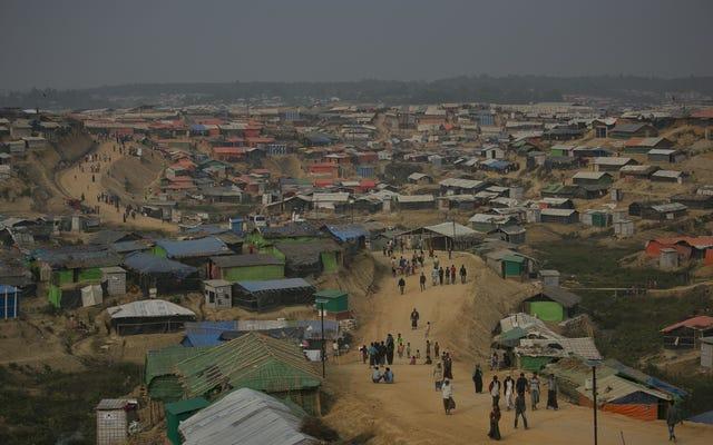 Les pluies de la mousson sont déjà un désastre pour les camps de réfugiés rohingyas