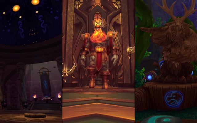 World of Warcraftの初期の概観:軍団のクラスホール