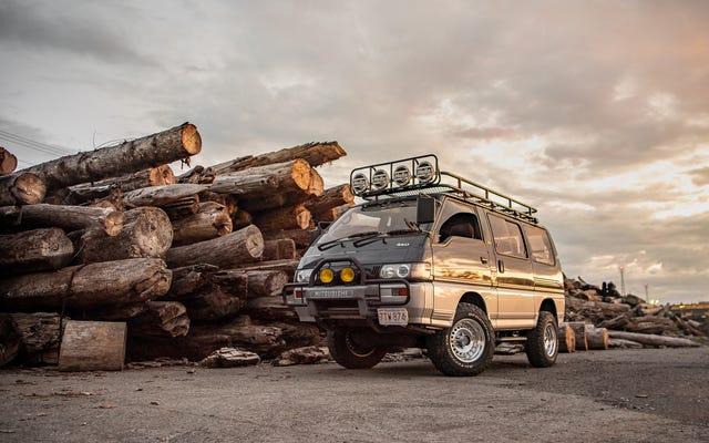 Wallpaper Mitsubishi Delica Anda yang Sangat Radikal Ada Di Sini