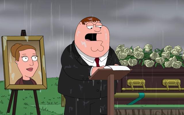 Family Guy a cessé de plaisanter assez longtemps pour rendre hommage à Carrie Fisher