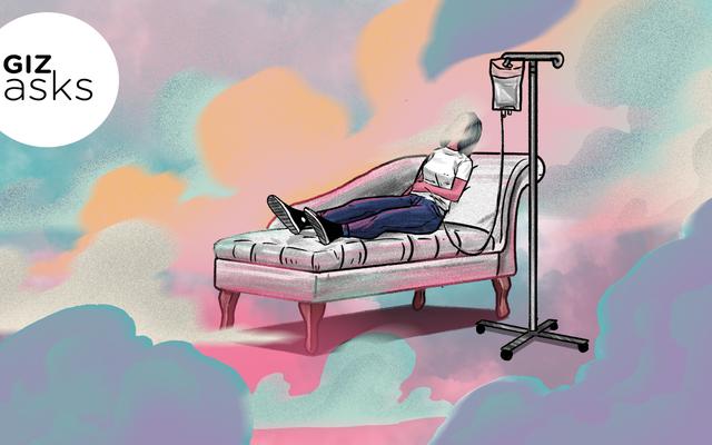केटामाइन थेरेपी प्राप्त करना कैसा लगता है?