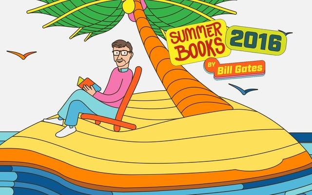 Пять полезных для мозга книг, которые Билл Гейтс предлагает вам прочитать этим летом