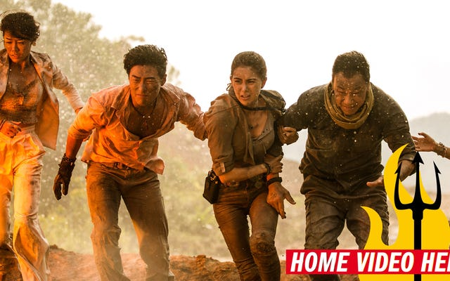 ハリウッドが保留になっている中国は、大ヒットの災害映画のスリルを提供しています