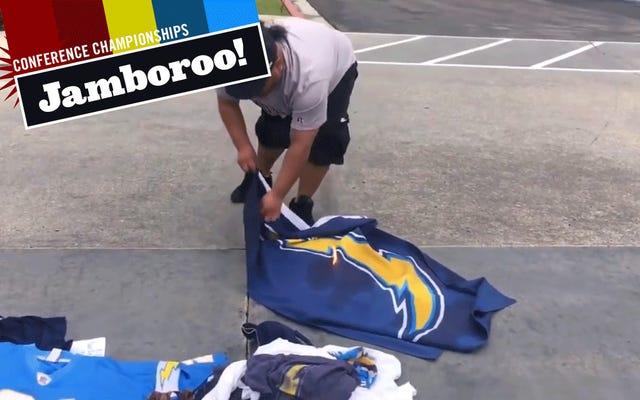 Fani San Diego Chargers zostali wyruchani do końca