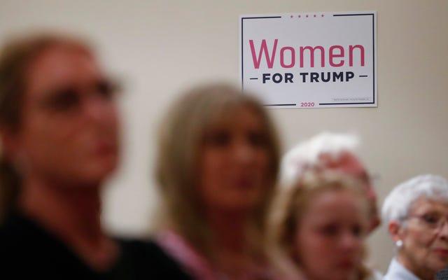 «Où sont les femmes blanches? Demande au GOP