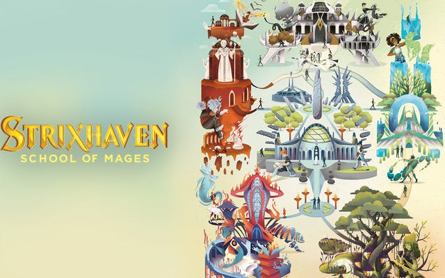 Strixhaven, Magic: The Gathering's Set Terbaru, Is Hogwarts Without The Terf