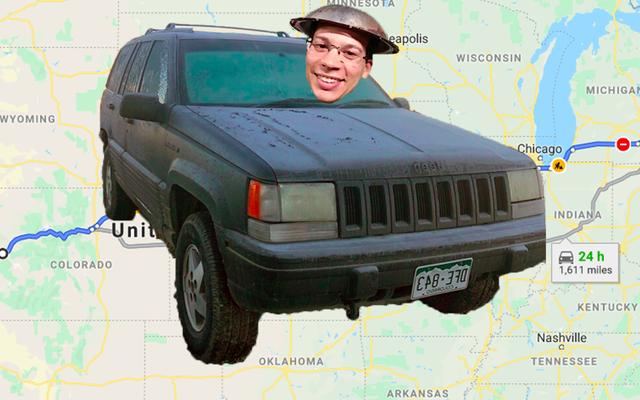 Đây là kế hoạch tưởng tượng của tôi để thúc đẩy 'Chén thánh Jeep Grand Cherokees' 260.000 dặm bị phá vỡ trên khắp đất nước
