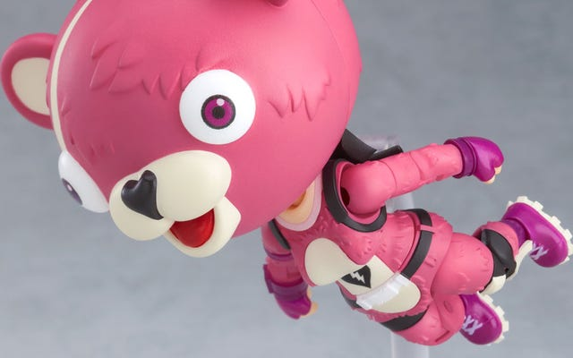 頭の大きいアニメのフォートナイトフィギュアが登場
