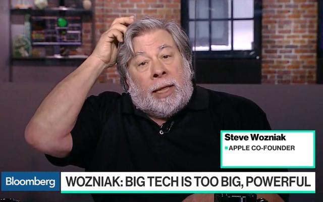 スティーブウォズニアックはアップルのようなビッグテック企業は解散されるべきだと言います