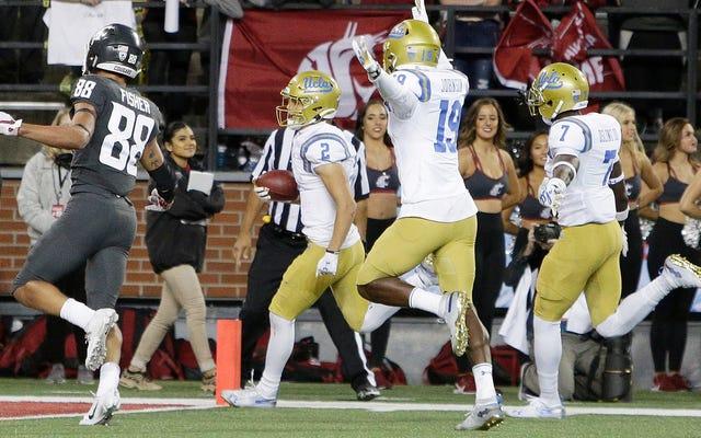 UCLAは、ワシントン州に対するサイケデリックスのカムバックで20分で50ポイントを獲得しました