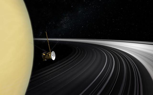Les anneaux de Saturne auraient pu se former à l'ère des dinosaures, selon une nouvelle analyse