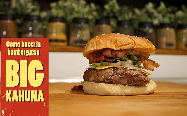 Cách chuẩn bị Big Kahuna, bánh hamburger Pulp Fiction nguyên bản