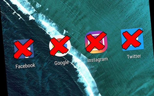 Bagaimana Menghapus Keberadaan Online Anda, Tapi Menyimpan Semua Data Anda